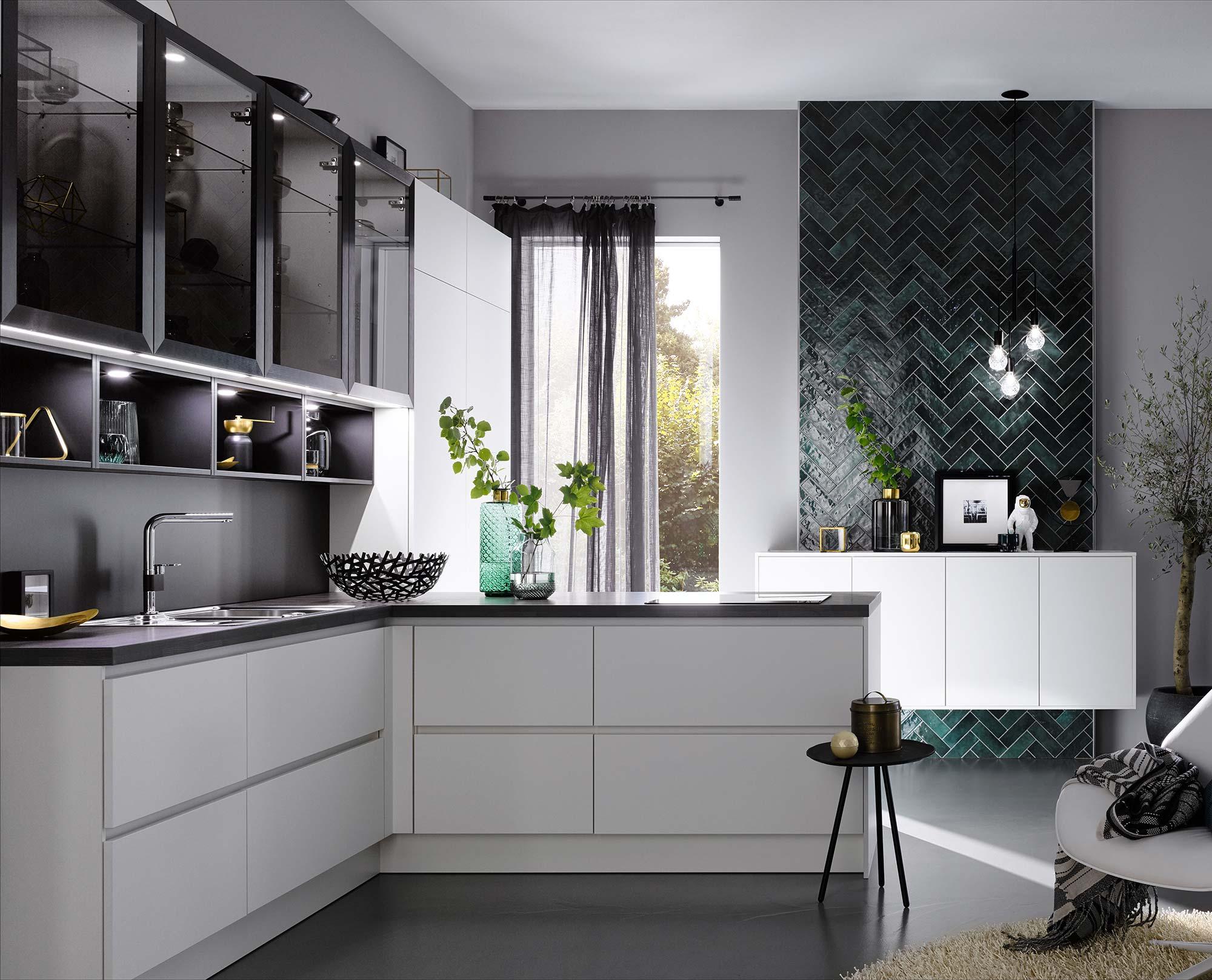 Moderne keukens voortman keukens